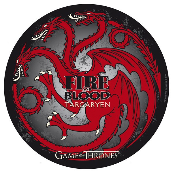 GAME OF THRONES - Mauspad - Targaryen