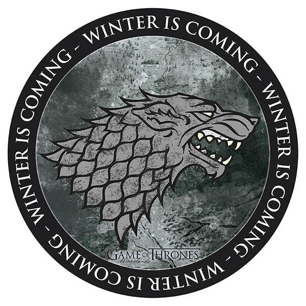 GAME OF THRONES - Mauspad - Stark - winter is coming