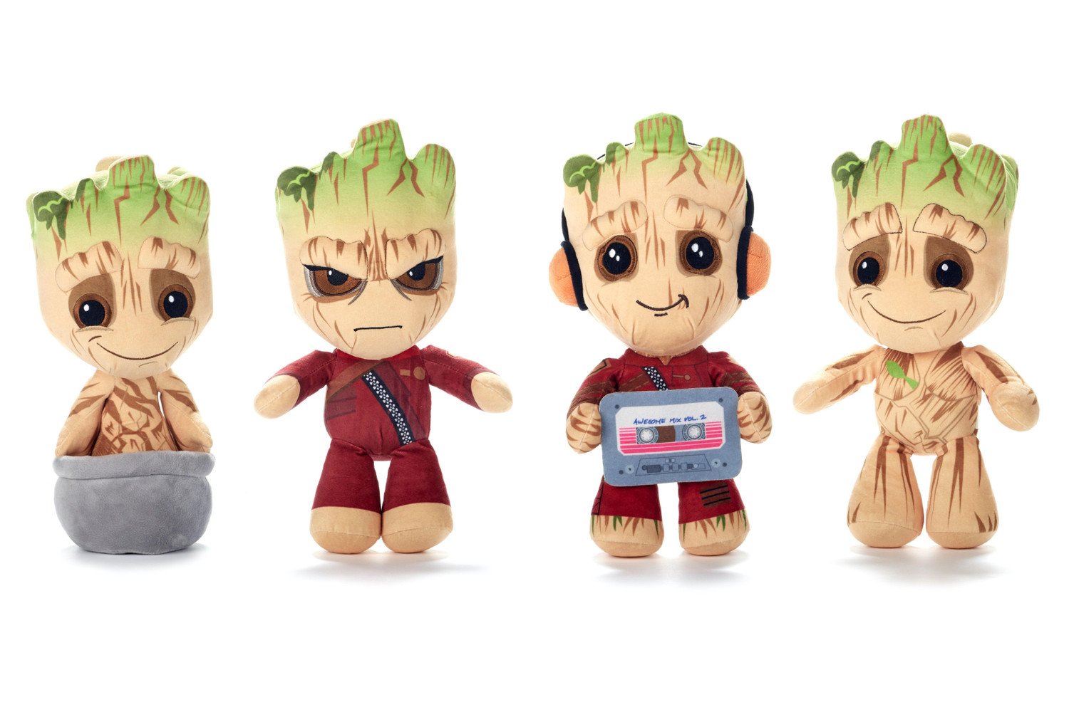Marvel: Guardians of the Galaxy - Baby Groot PLüsch - Kollektion 4-fach sortiert, 32cm