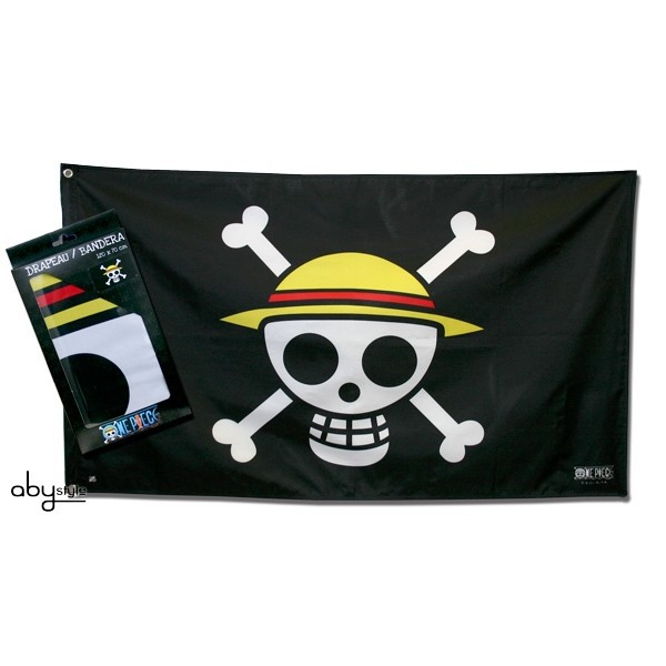 One Piece Piratenflagge / Fahne / Jolly Roger: Skull Ruffy (70 x 120 cm)