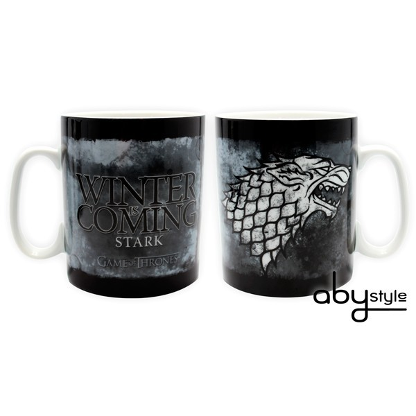 GAME OF THRONES - Stark Jumbo Tasse - 460 ml