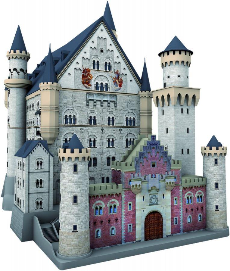 216 Teile 3D Puzzle-Bauwerke - Schloss Neuschwanstein – Bild 3