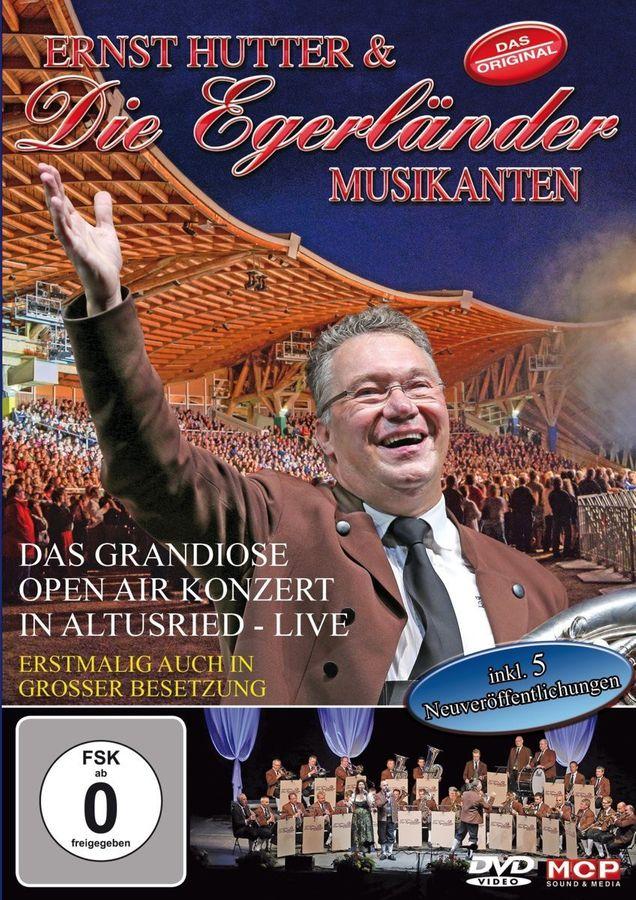 ernst Hutter & Die Egerländer Musikanten - das Grandiose Open Air In Altusried - Live