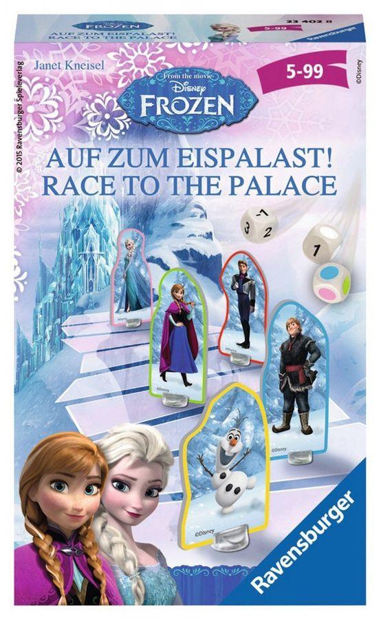 Disney Frozen Brettspiele auf zum Eispalast - Mitbringspiel – Bild 1