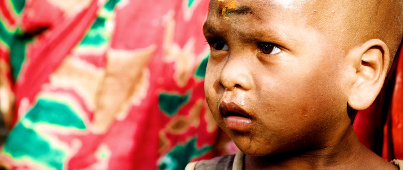 Tribal Junge in Bangladesh