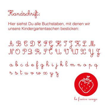 Kindergartentasche Matrjoschka – Bild 4