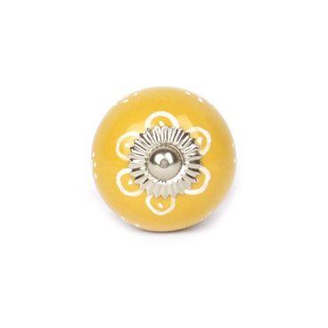 Möbelknopf Sunflower gelb