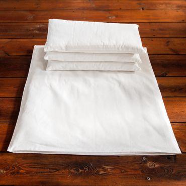 Zabuton - Meditationskissen (groß) + 3 Einzelkissen - 4er Set