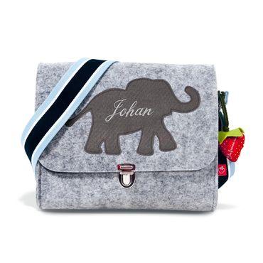Filztasche Elefant grau – Bild 2