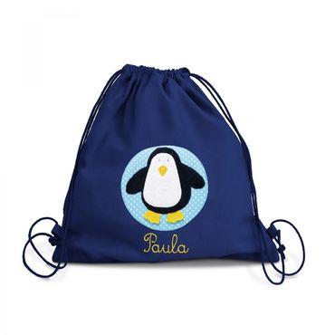 Turnbeutel Pinguin