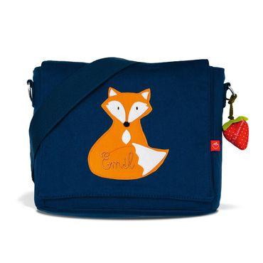 Set: Kindergartentasche & Turnbeutel mit Namen Fuchs – Bild 2