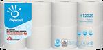 Toilettenpapier, 2-lg,RC,weiß, 250 Blatt, 8x8 Rollen