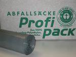LDPE-Abfallsäcke, grau, Regenerat, Typ 60, 120L