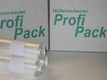 HDPE-Müllbeutel, transparent, 60L