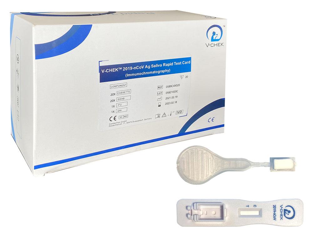V-Check Antigen Corona Lollipop Rapid Test - 20 pcs.