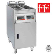 frifri Vision 422 2x9L 2x7,5 KW Elektro-Fritteuse Edelstahl- Stand- Profi-
