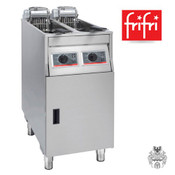 frifri BASIC+422 2x9L 2x11KW Elektro-Friteuse Edelstahl- Stand- Profi-