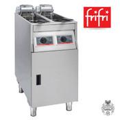 frifri BASIC+422 2x9L 2x7,5KW Elektro-Friteuse Edelstahl- Stand- Profi-