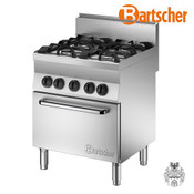 Bartscher Gasherd 650, B700, 4FL, EBO