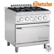 Bartscher Gasherd 700, B800, 4FL, EBO