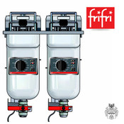 frifri ELEGANCE S422 2x9L 2x7,5KW Elektro-Friteuse Edelstahl- Stand- Profi-