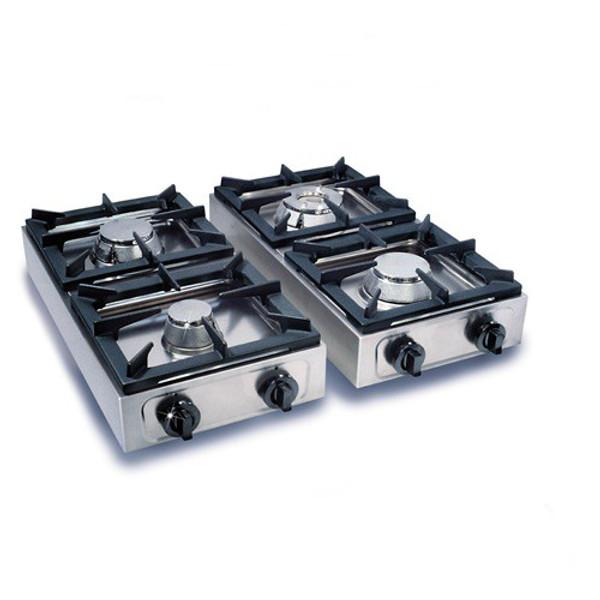 Gaskochfeld gaskocher 2 brenner 2x6 5 kw - Cucina gas esterno ...