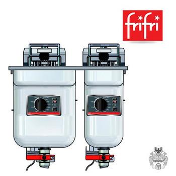 Foto frifri ELEGANCE S522 9+14,5L 9+15KW Elektro-Friteuse Edelstahl Einbau 1
