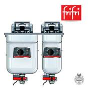 frifri ELEGANCE S522 9+14,5L 9+15KW Elektro-Friteuse Edelstahl Einbau
