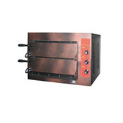 Pizzaofen Elektro 6 kW 500 mm 2 Kammern
