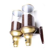 Supremo Kaffeebohnendispenser Wandgerät Gold