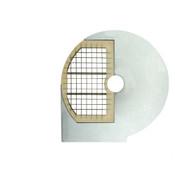 prismafood Schneidescheibe D 10x10, Würfelgitter