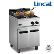 Lincat frifri Gas-Friteuse 2x 14 L 32 KW Stand-Fritteuse