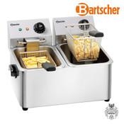 Bartscher Fritteuse Snack II, 2x4L
