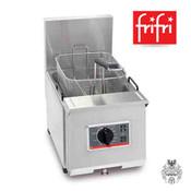 frifri Profi+6 5L 4,6 KW 400V Edelstahl-Friteuse Tisch- Elektro-
