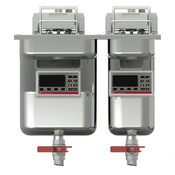 frifri Einbaufritteuse 1x11,4+1x7,5 kW Elektro, Vision Einbau 522, 1x9L+1x14L, Filter