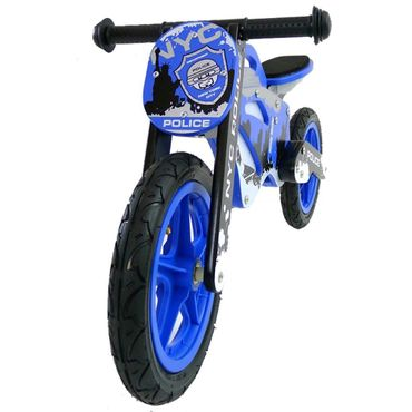 12 inch Wooden best kids balance bike GTX, Training Bike - wheels incl. tires, many different designs – image 1