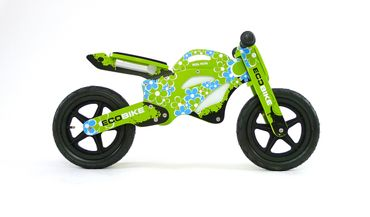 12 inch Wooden best kids balance bike GTX, Training Bike - wheels incl. tires, many different designs – image 2