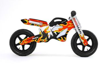 12 inch Wooden best kids balance bike GTX, Training Bike - wheels incl. tires, many different designs – image 5