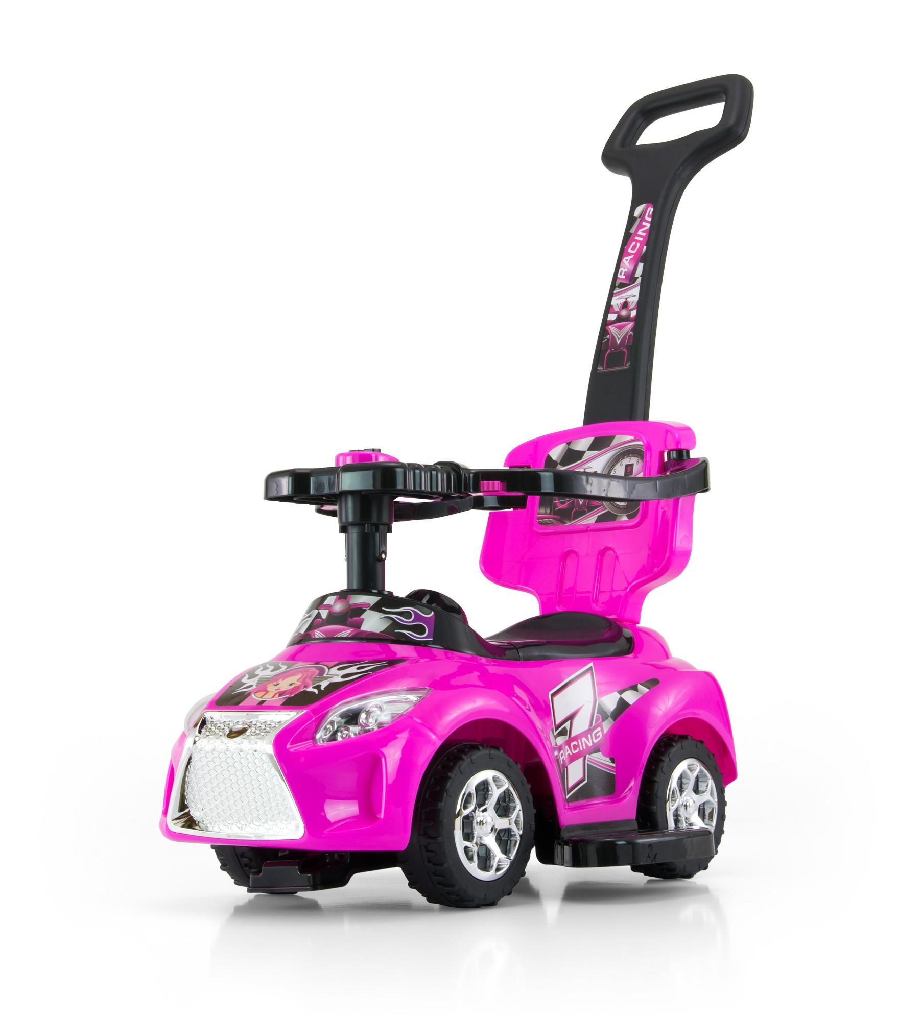 Rolling Toy Push Bar Stroller Kids Ride Car Rolling Car
