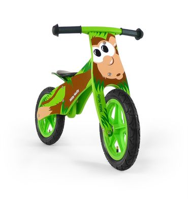 12 inch Wooden best kids balance bike, Training Bike - wheels incl. tires, 9 different designs – image 6