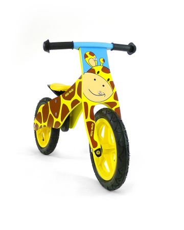 12 inch Wooden best kids balance bike, Training Bike - wheels incl. tires, 9 different designs – image 2