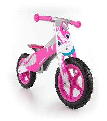 12 inch Wooden best kids balance bike, Training Bike - wheels incl. tires, 9 different designs – image 4
