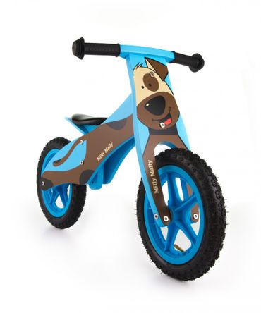 12 inch Wooden best kids balance bike, Training Bike - wheels incl. tires, 9 different designs – image 5