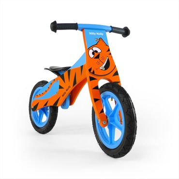 12 inch Wooden best kids balance bike, Training Bike - wheels incl. tires, 9 different designs – image 7