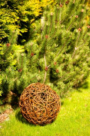 Floranica® Willow ball, willow decoration ball, vine ball, garden decoration in 5 different sizes – Bild 4