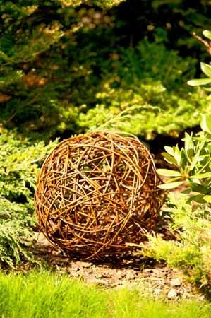Floranica® Willow ball, willow decoration ball, vine ball, garden decoration in 5 different sizes – Bild 5