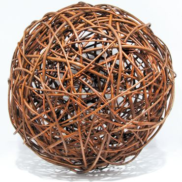 Floranica® Willow ball, willow decoration ball, vine ball, garden decoration in 5 different sizes – Bild 1