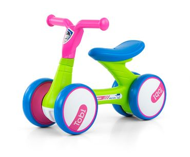 Very light (2.2 kg) and mobile Riding Toys with 7 inch wheels in 6 designs: pushcar children's car bobbycar, appropriate for children 18 months and up. – image 1