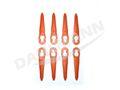 8x Messer Kunststoffmesser für STIHL Akku Rasentrimmer FSA 45 001