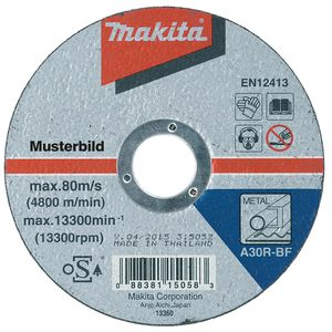 10x Makita Trennscheibe 230 mm Metall